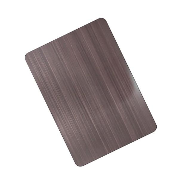 亮油不锈钢拉丝板
