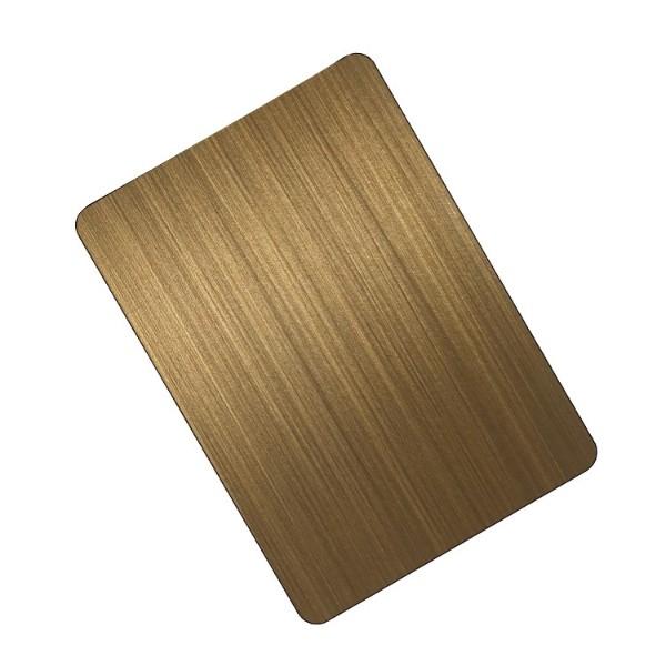 黄古铜拉丝板