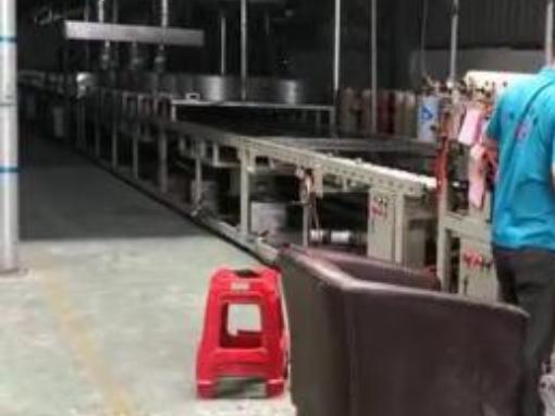 纳米镀色生产线