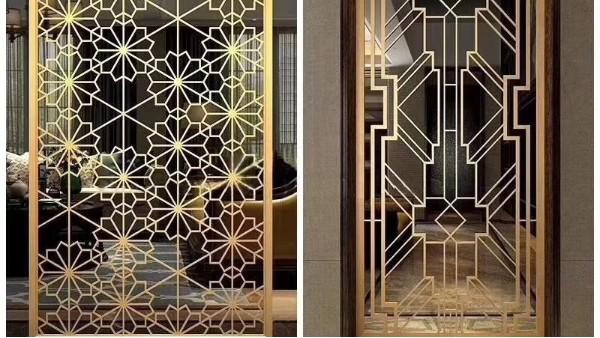 镜面不锈钢屏风装饰工程效果如何?