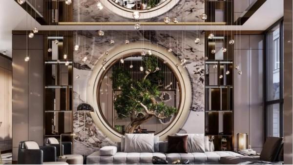 不锈钢装饰打造的奢空间