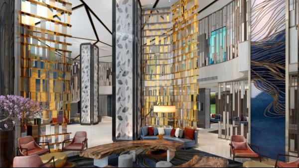 教您如何设计酒店不锈钢屏风