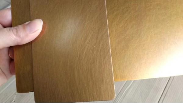 不锈钢装饰板加上无指纹工艺更上一层楼!