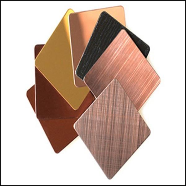 不锈钢彩色板定制系列
