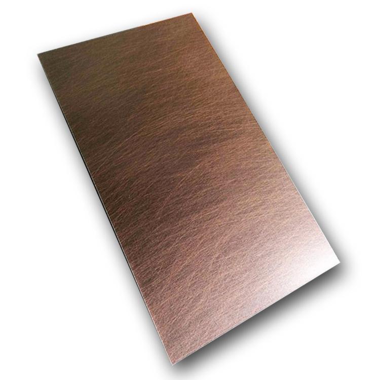 乱丝红铜不锈钢装饰板