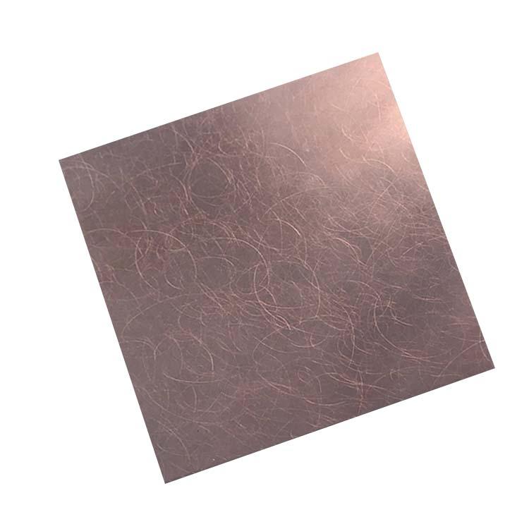 拉丝乱纹不锈钢板