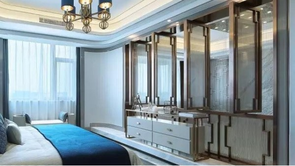 最美新中式,将不锈钢装饰运用到极致!