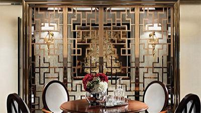 点赞装饰为大家讲解餐厅不锈钢屏风设计的优点与特点