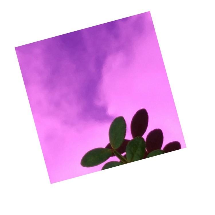 紫色镜面板